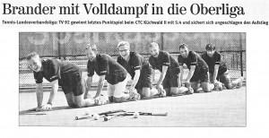 Aufstieg Oberliga
